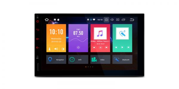 Double DIN | Android 9.0 | Octa Core | 4GB RAM & 64GB ROM | TBX709L