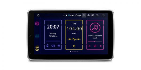 Double Din   Android 10   Octa Core   4GB RAM & 64GB ROM   Rotatable Screen   TIB110L