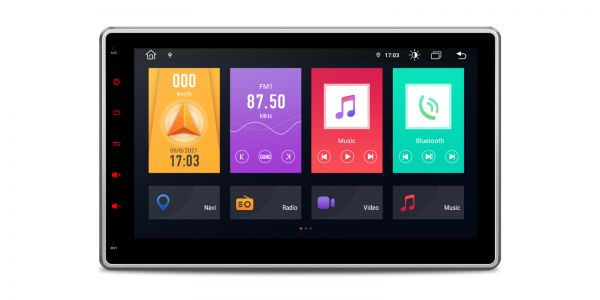Double DIN    Android 10   Octa Core   DDR4 Memory  2GB RAM & 32GB ROM  TME100L