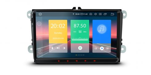 Volkswagen / SEAT / SKODA | Android 10 | Quad Core | 2GB RAM & 16GB ROM | IN90MTVLN