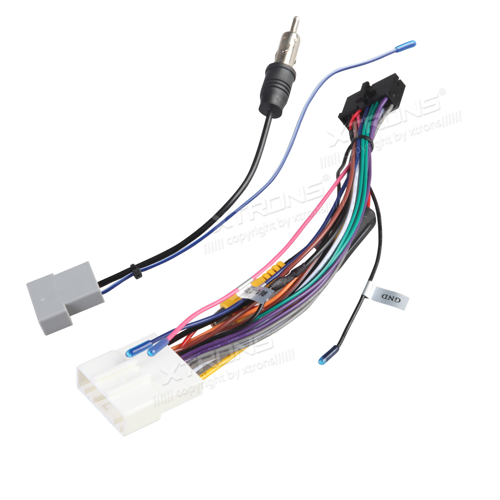 Iso Wiring Harness For The Installation Of Xtrons Tb706pl  Tb697p  Ta701pl  Ta695p  Td626ab