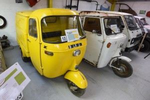 Hammond Microcar museum and Auto Express