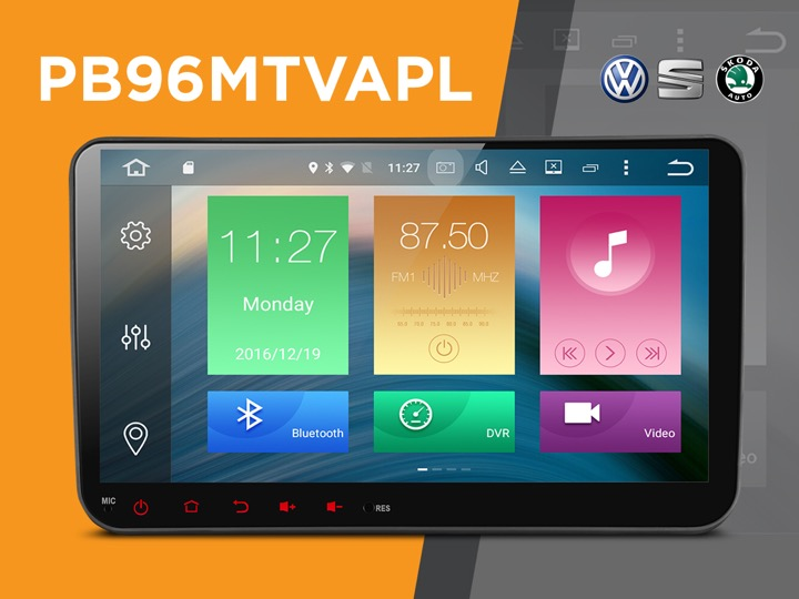 Volkswagen, seat and skoda Android Car Stereo