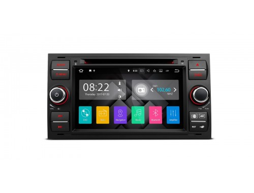 Black Ford Android Nougat 7.1 Car Stereo