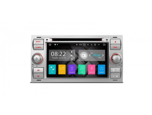 Silver Ford Android Nougat 7.1 Car Stereo