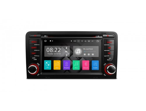 Audi A3 Android Car Stereo pa77aa3p