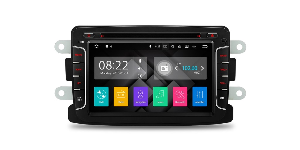 Android car stereo for Renault