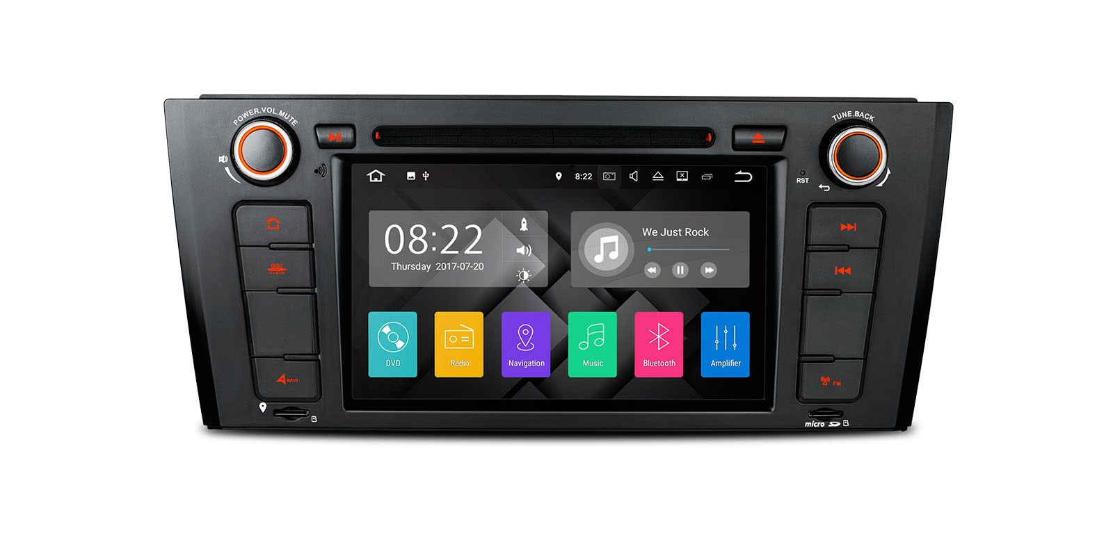 Android car stereo DVD Player
