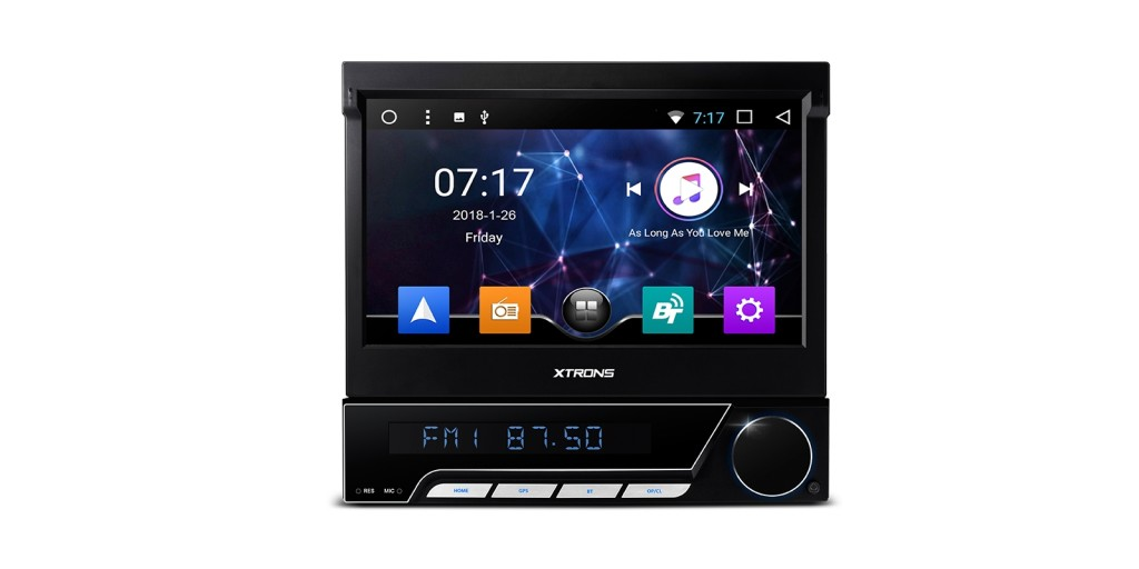 """7"""" Android 7.1 Nougat Single DIN Car Stereo"""
