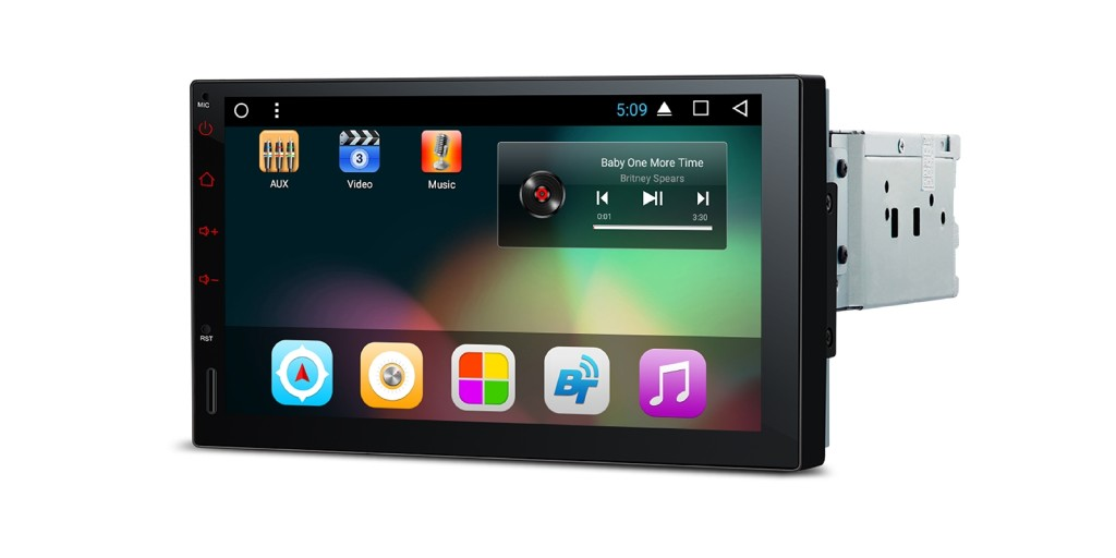 Android 7.1 Single DIN Car Stereo